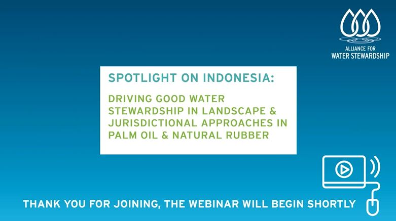Spotlight on Indonesia Webinar Welcome Screen